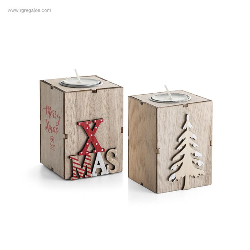 Portavela-navidad-de-MDF-RG-regalos-publicitarios