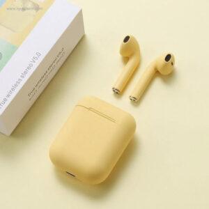 Auriculares-inalámbricos-colores-amarillos-RG-regalos