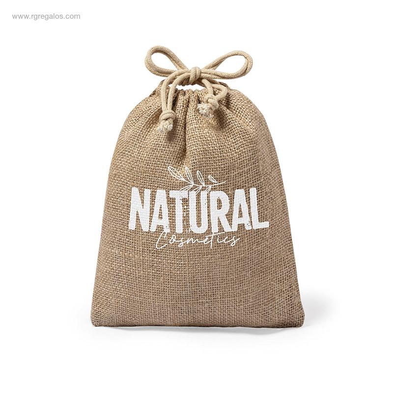 Cápsulas-café-personalizadas-bolsa-yute-RG-regalos