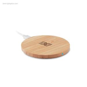 Cargador-inalámbrico-bambú-logo-RG-regalos