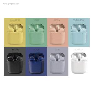 Auriculares-inalámbricos-colores-RG-regalos-empresa-personalizados